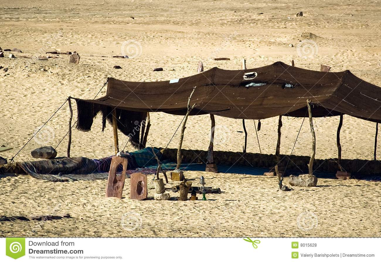 Beduińscy namioty