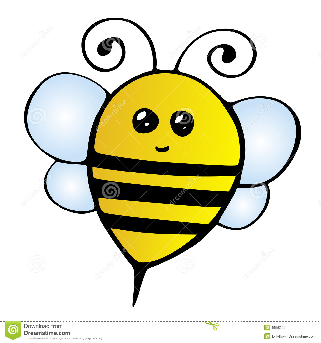 Bee Royalty Free Stock Images - Image: 6658299