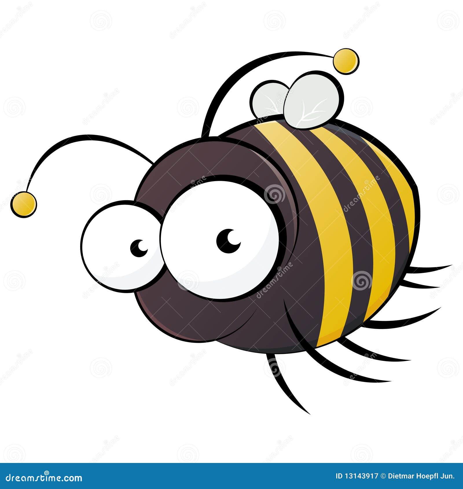 Bee Cartoon Royalty Free Stock Photography - Image: 13143917