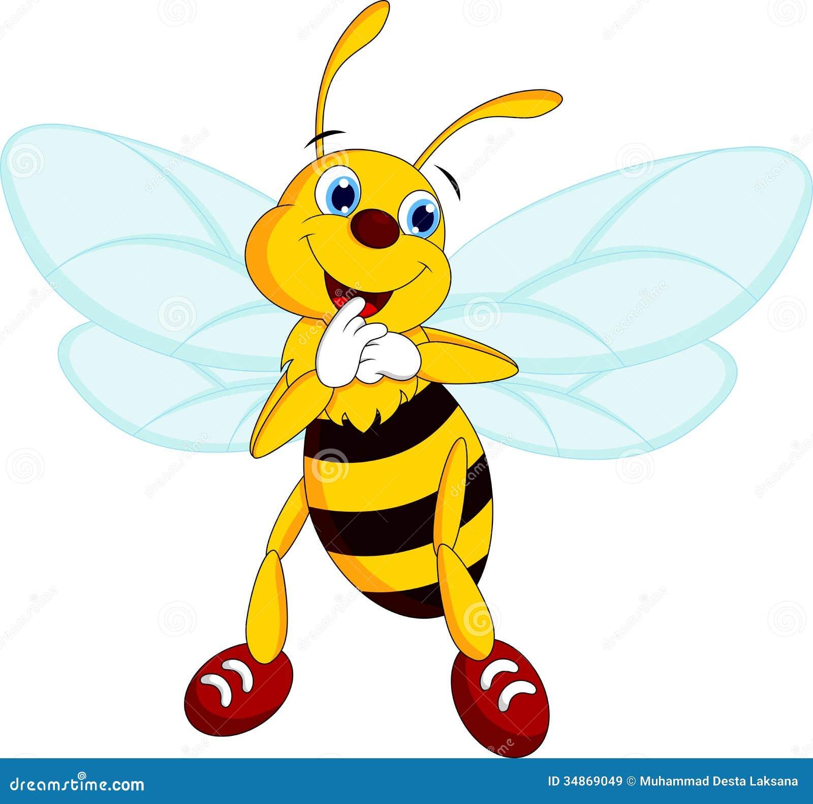 Cartoon bees flying - photo#19