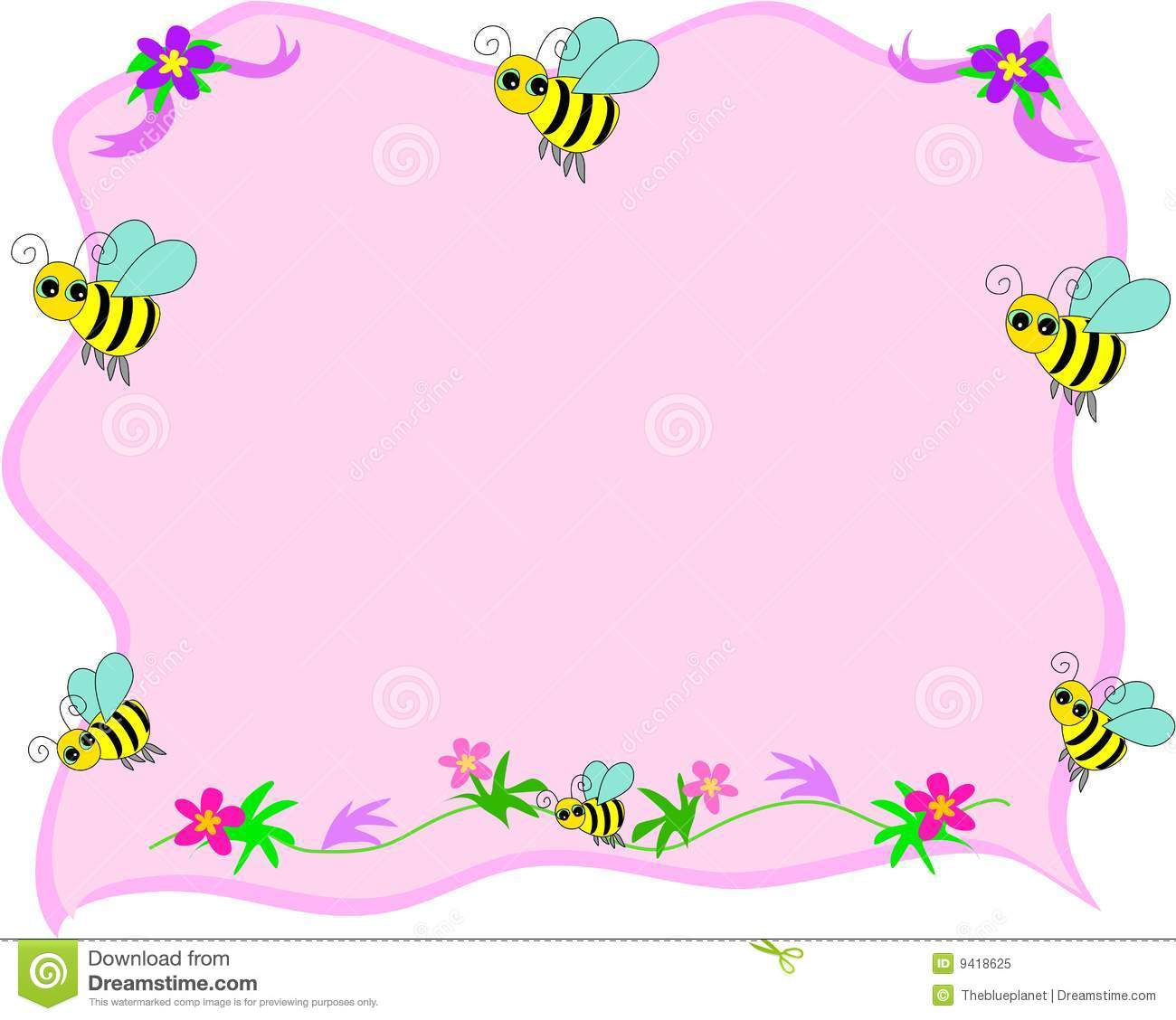 bee on a leaf clip art