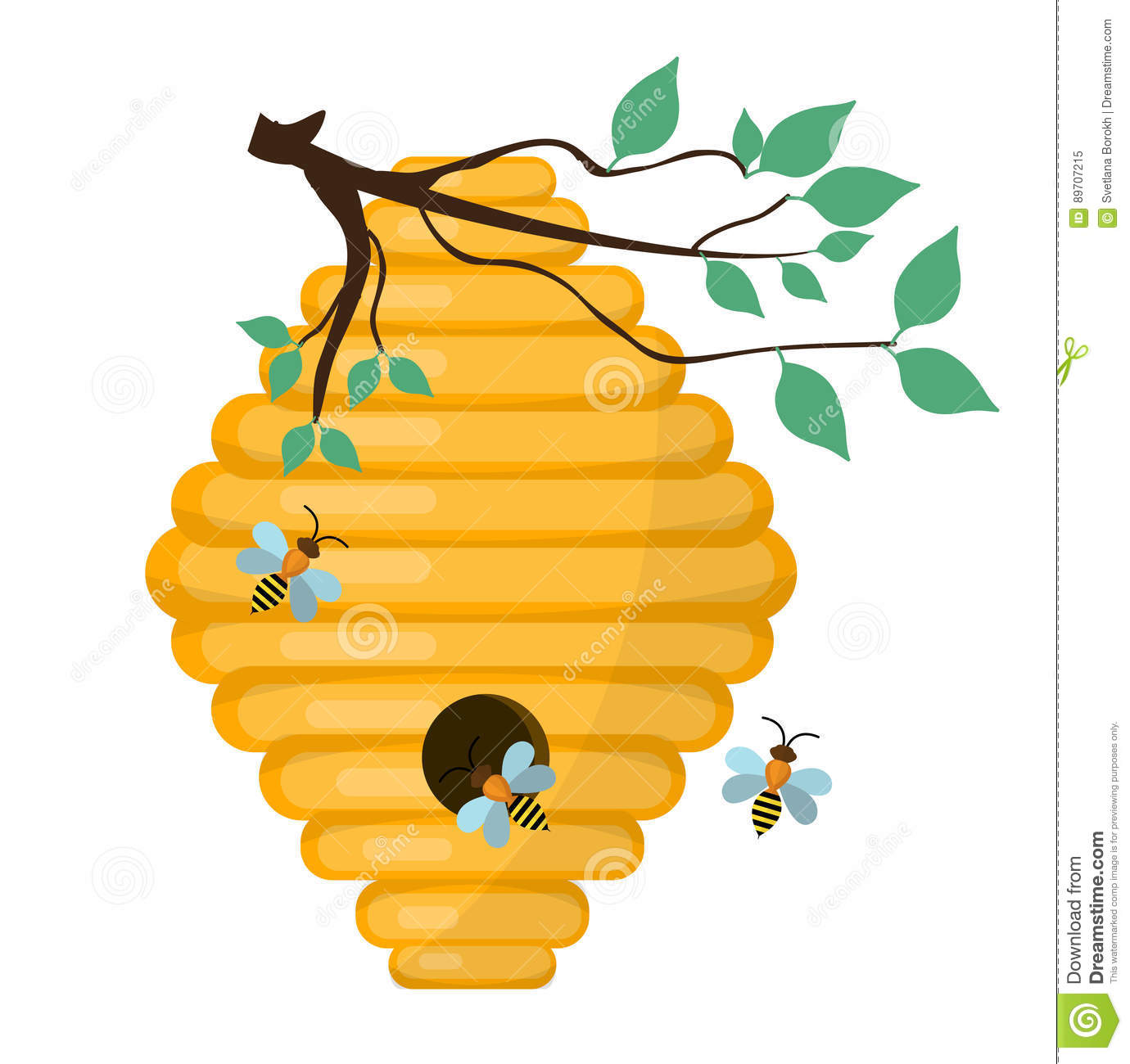 bee hive  swarm icon  flat style isolated on white free download clip art beehive Golden Bee Clip Art Free