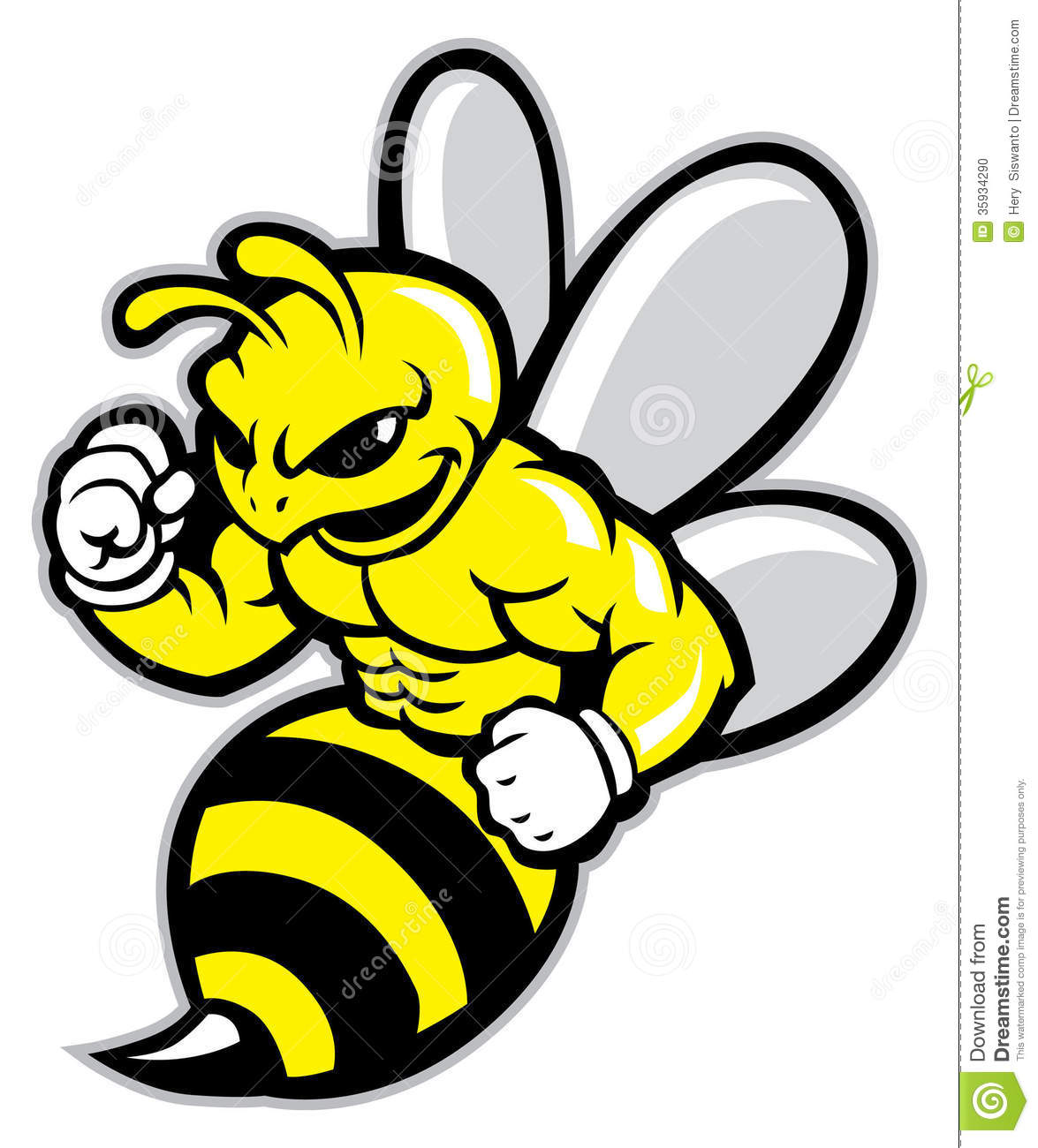 free clip art yellow jacket - photo #41