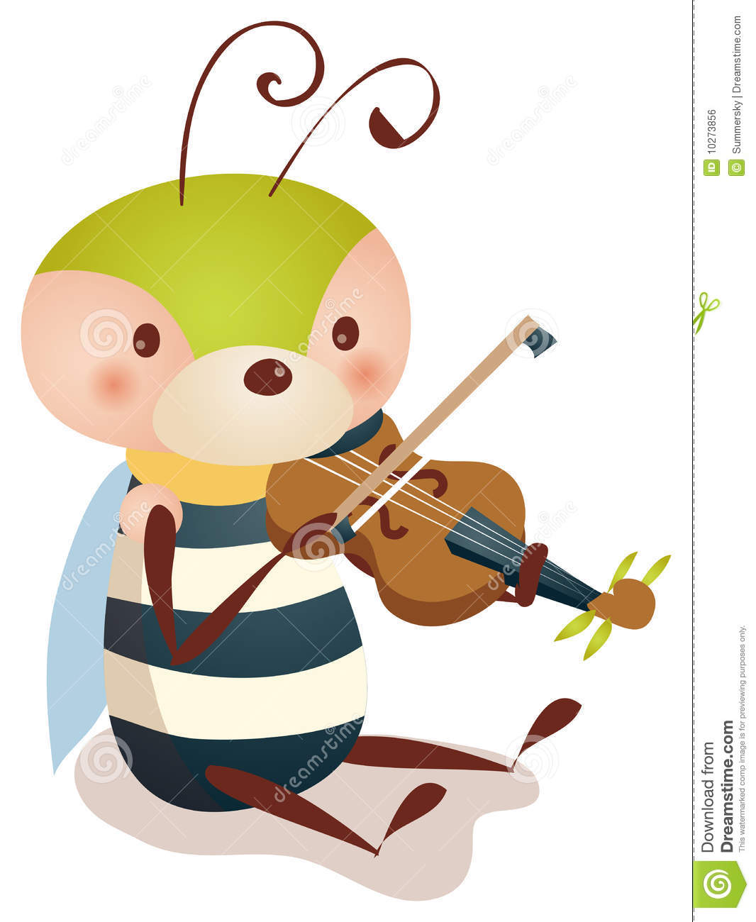 bee playing violin royalty free stock image image 10273856 fiddle clipart black and white fiddle clipart black and white