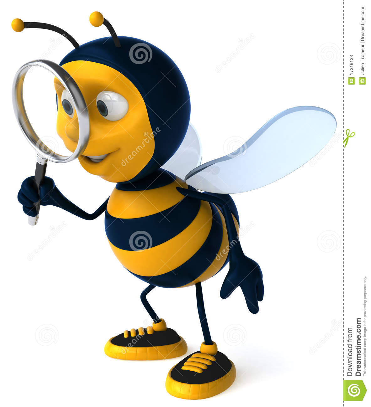 Bee searching