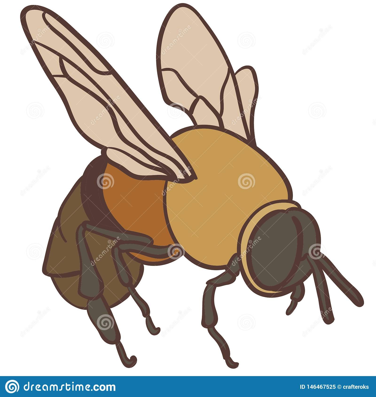 Bee Digital Stock Illustrations – 1,155 Bee Digital Stock