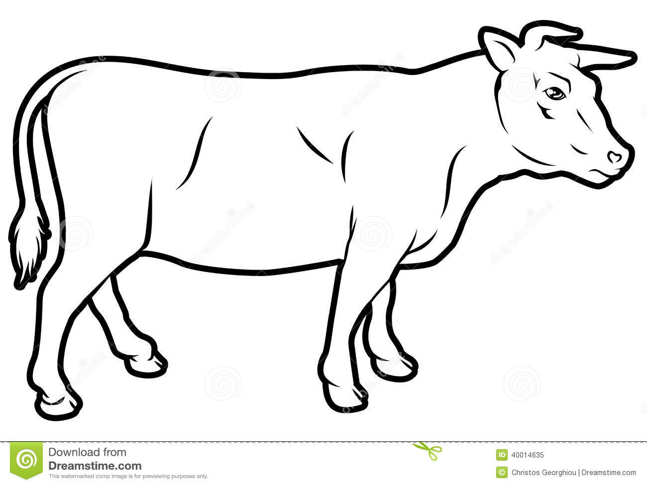 Royalty Free Stock Photo Beef Cow Illustration Could Be Label Image40014635 on beef diagram