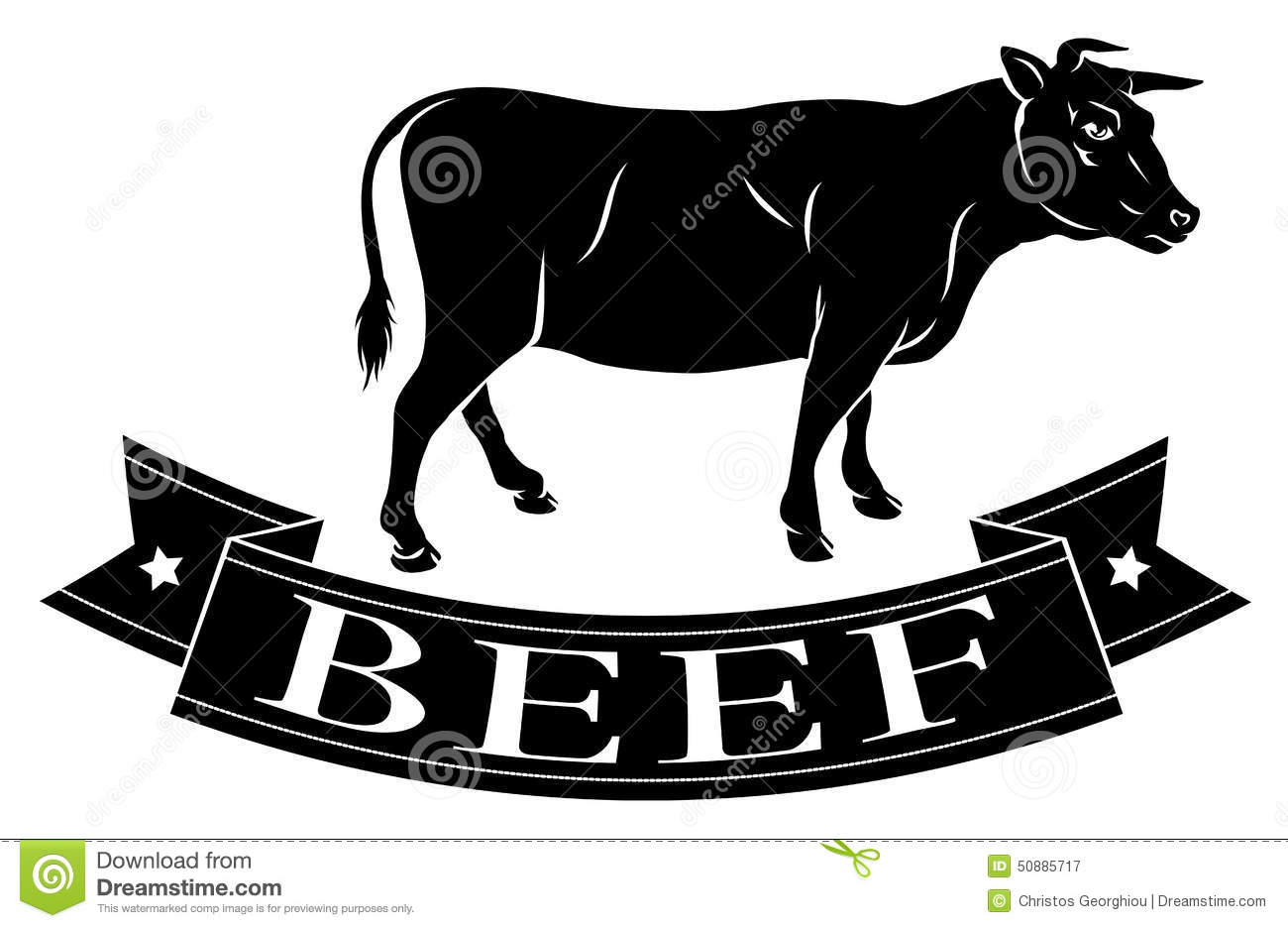 Beef Food Icon Stock Vector - Image: 50885717