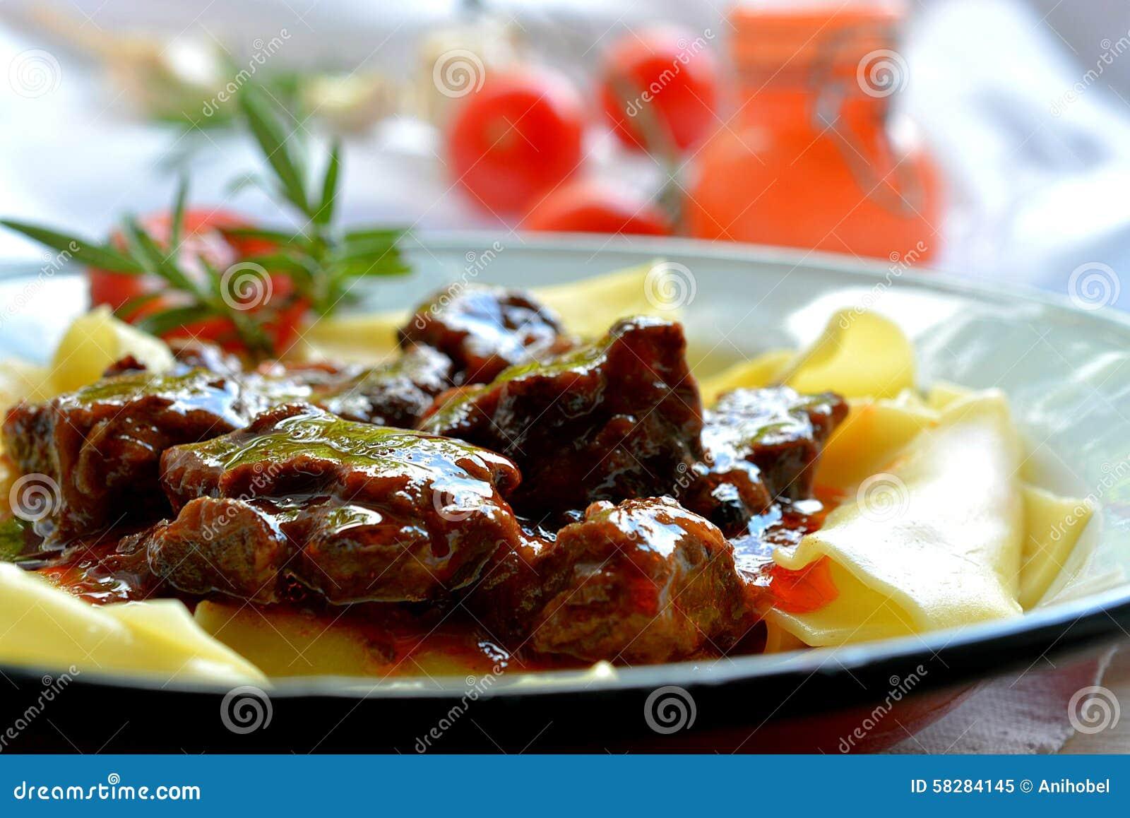 Beef Goulash Stock Photo - Image: 58284145
