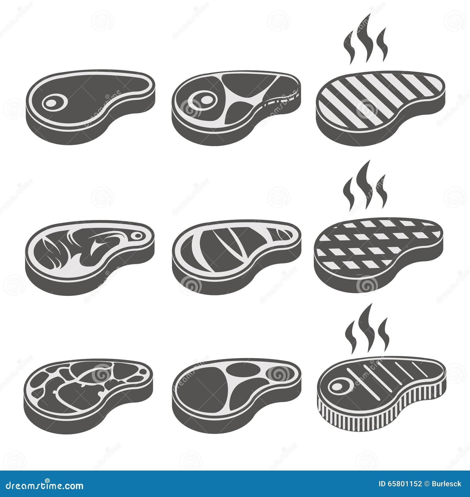 Image Gallery steak vector