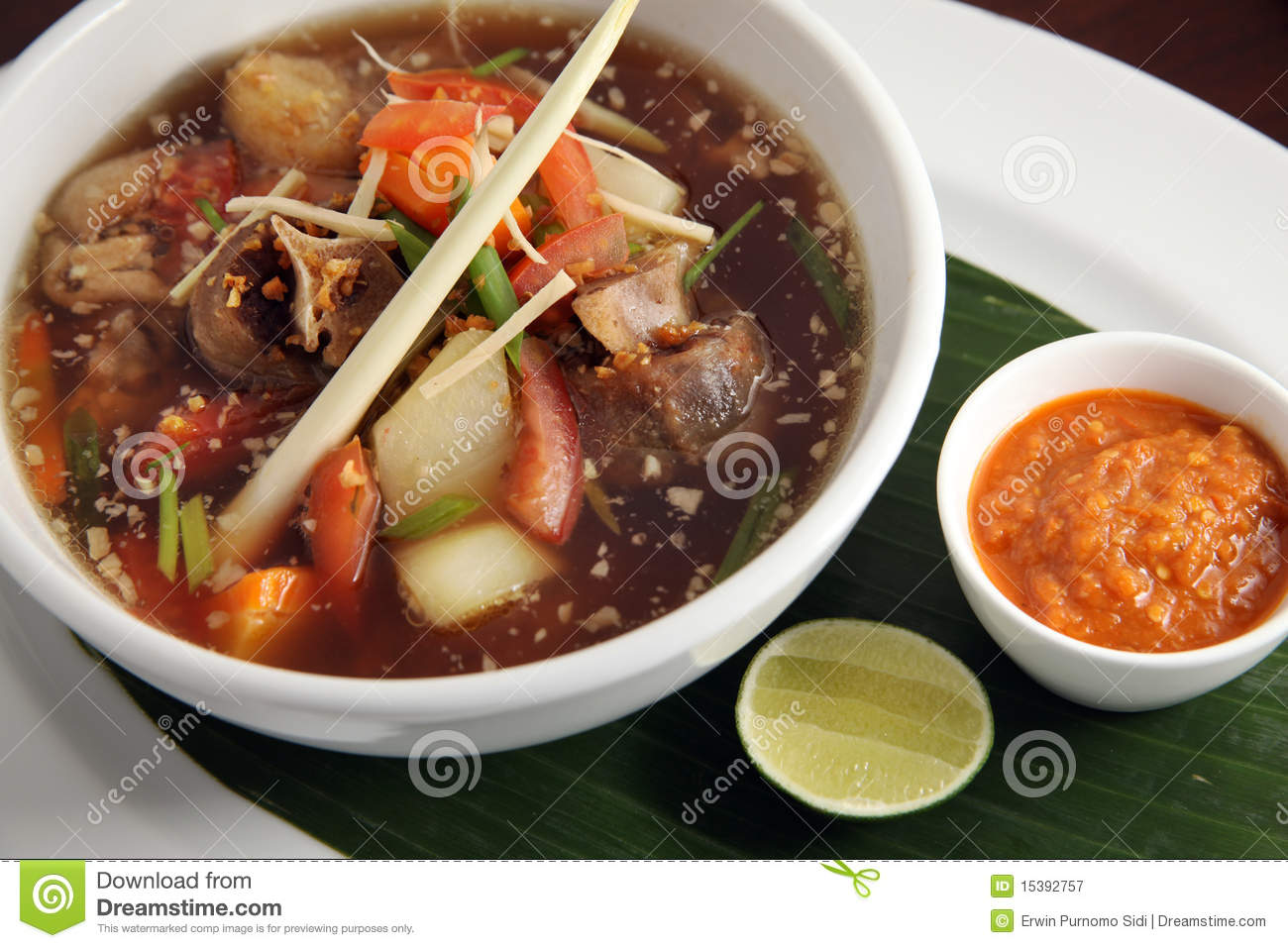 Beef Oxtail Soup Asian Food Royalty Free Stock Photography - Image ...