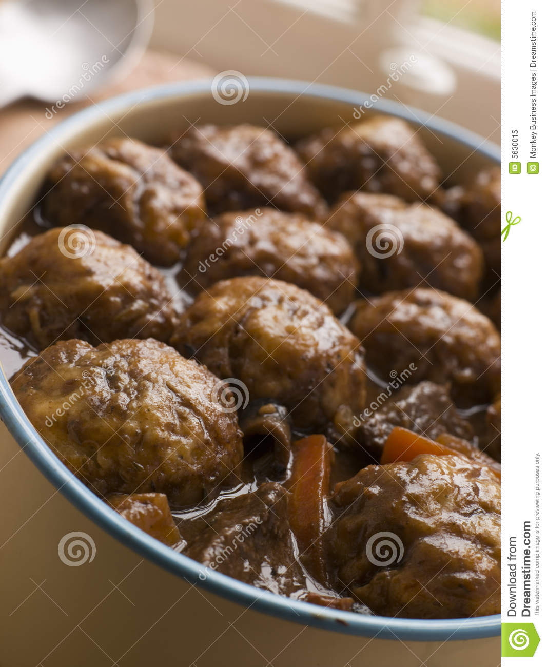 Beef Stew And Herb Dumplings Royalty Free Stock Photo - Image: 5630015