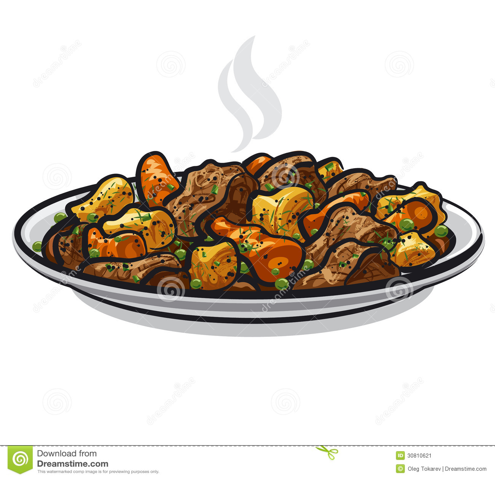 Beef Stew Stock Image Image 30810621