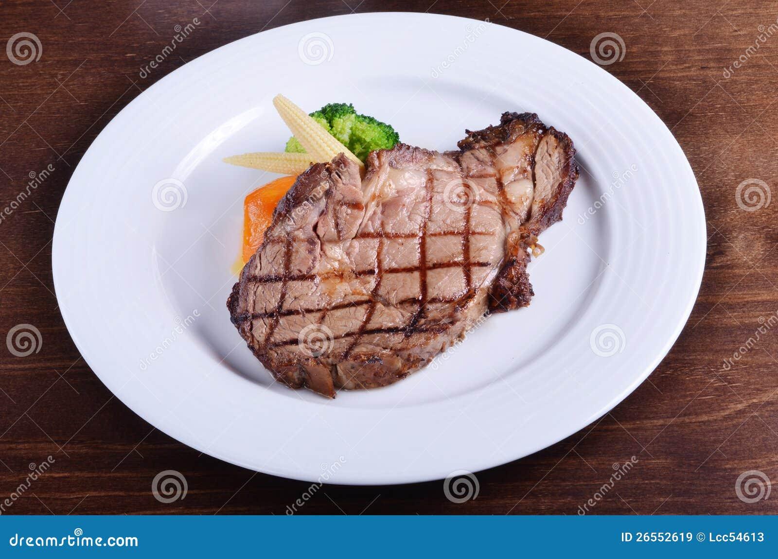 Download Beefsteak stock image. Image of sirloin, dinner, medium - 26552619