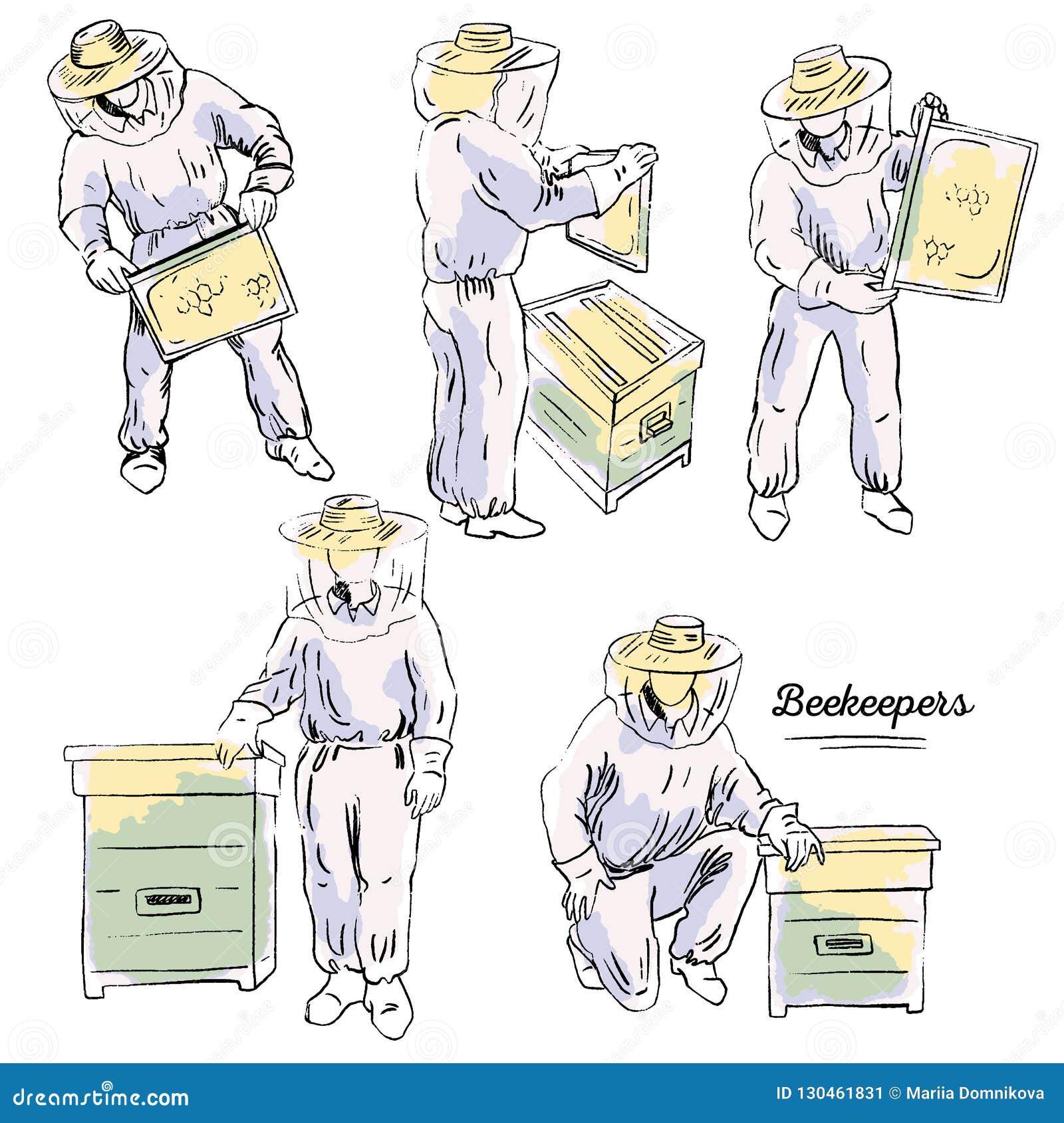 Beekeepers Set