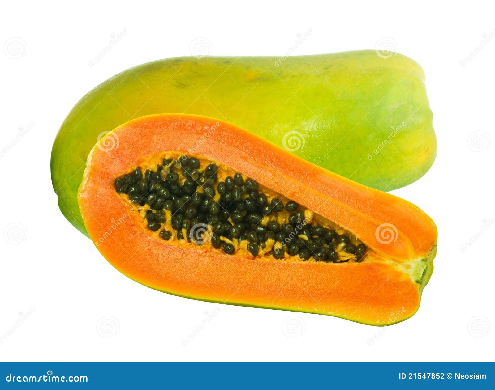 Beeld van de vruchten van de Papaja