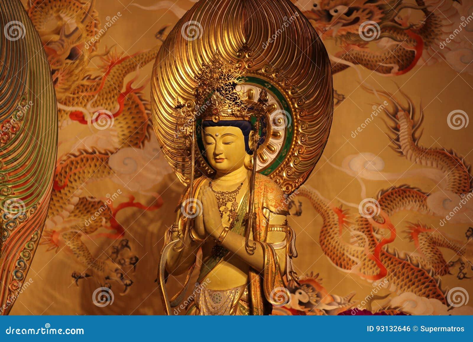 Beeldhouwwerk, architectuur en symbolen van Hindoeïsme en Boeddhisme