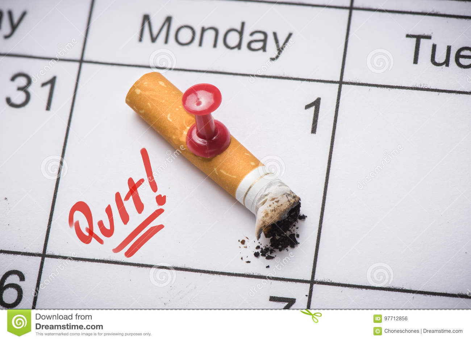 Beenden Sie Smoking