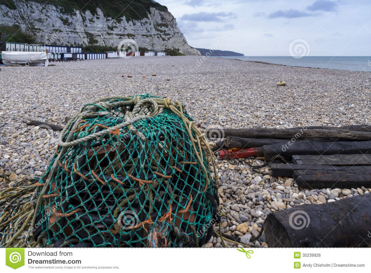 Beer United Kingdom  City new picture : ... beach with Lobster Pot at Beer, Devon, England, United Kingdom