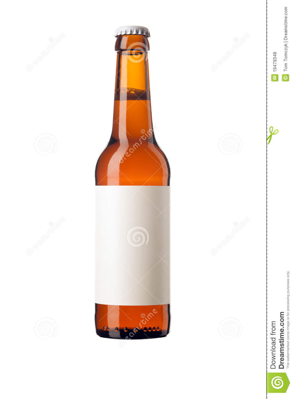 royalty free stock photos beer bottle with blank label image 19479348. Black Bedroom Furniture Sets. Home Design Ideas