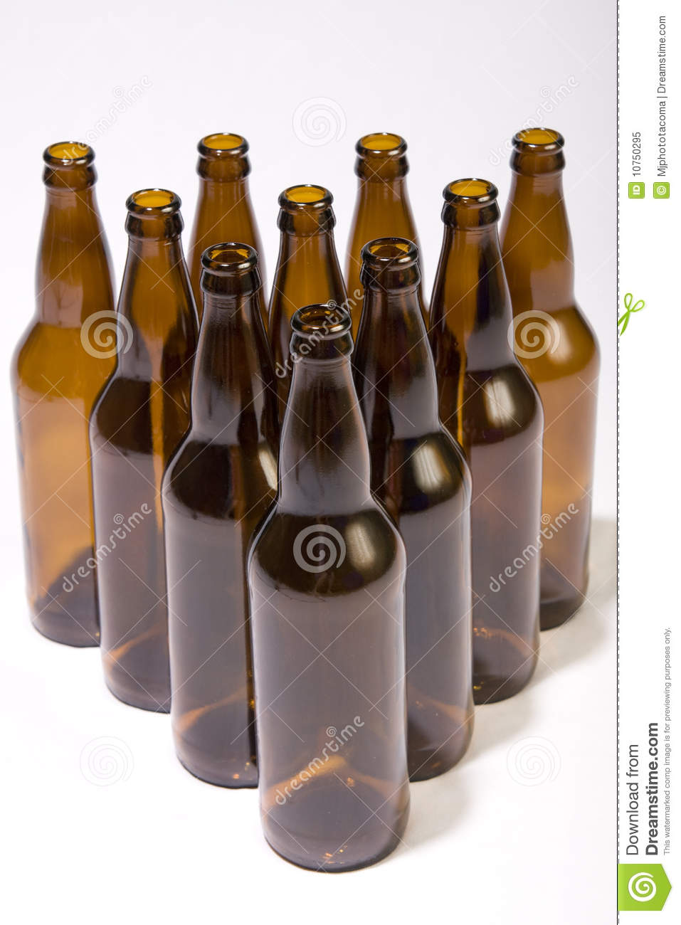 Beer Bottle Bowling Royalty Free Stock Photo Image 10750295