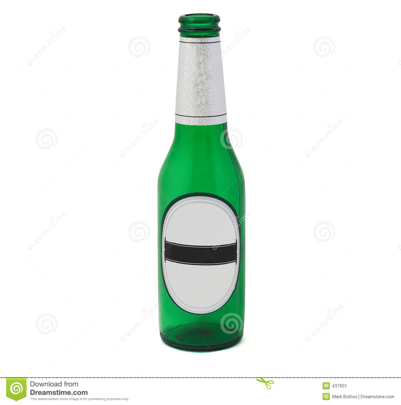 beer bottle with clipping path stock image image 437601. Black Bedroom Furniture Sets. Home Design Ideas