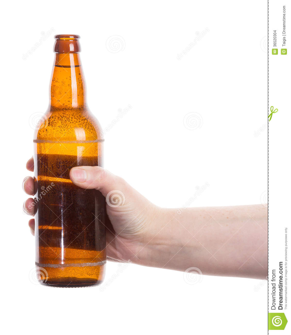 how to hold a beer bottle