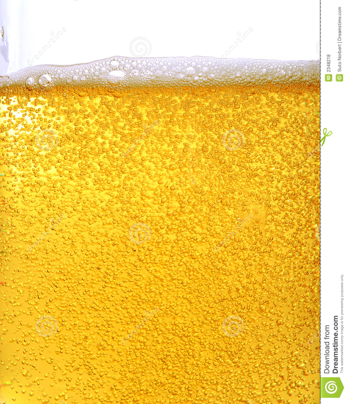 Beer And Bubbles Royalty Free Stock Photos - Image: 2348218
