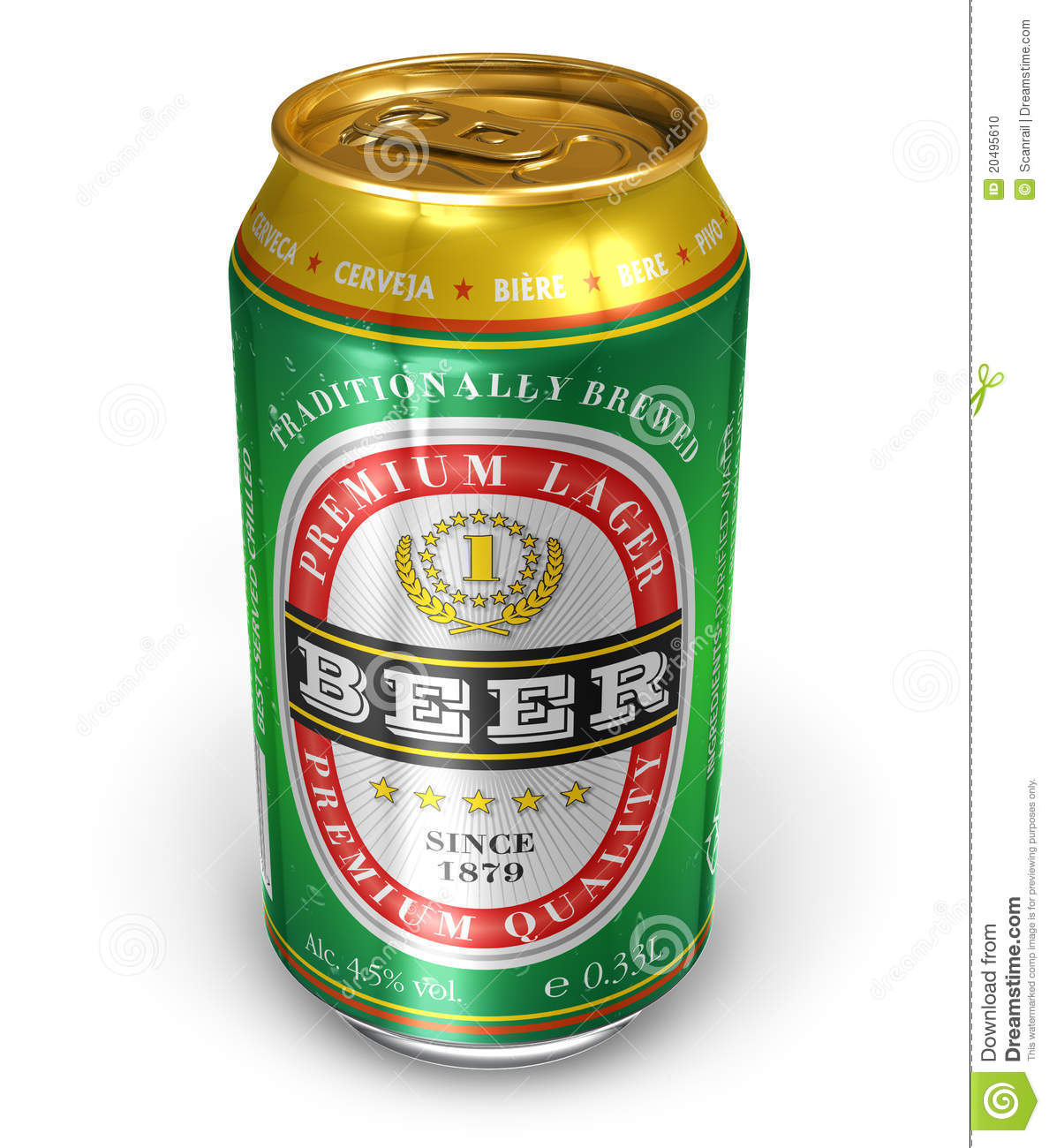 Beer Can Stock Photo - Image: 20495610 Canned Food