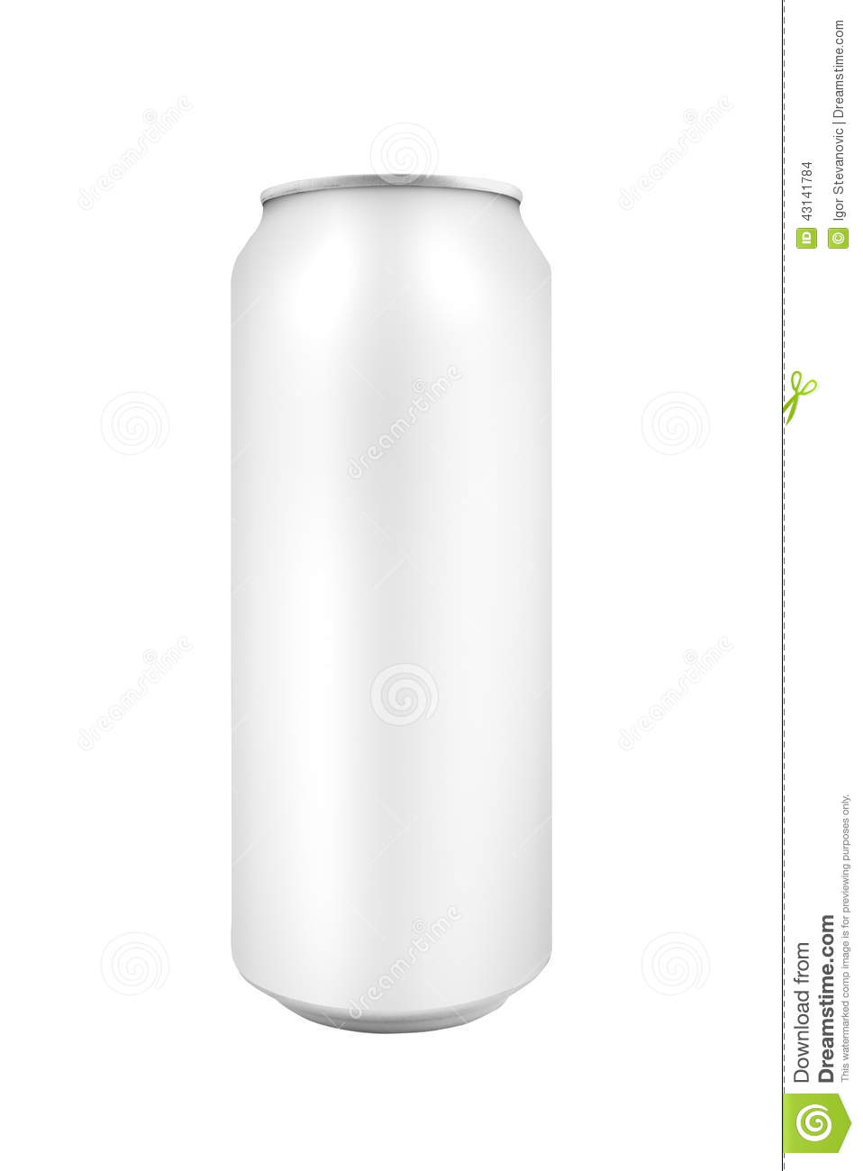 Energy Drink Can Template