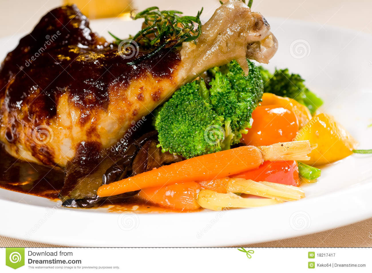 Beer Chicken Stew Royalty Free Stock Photography - Image: 18217417