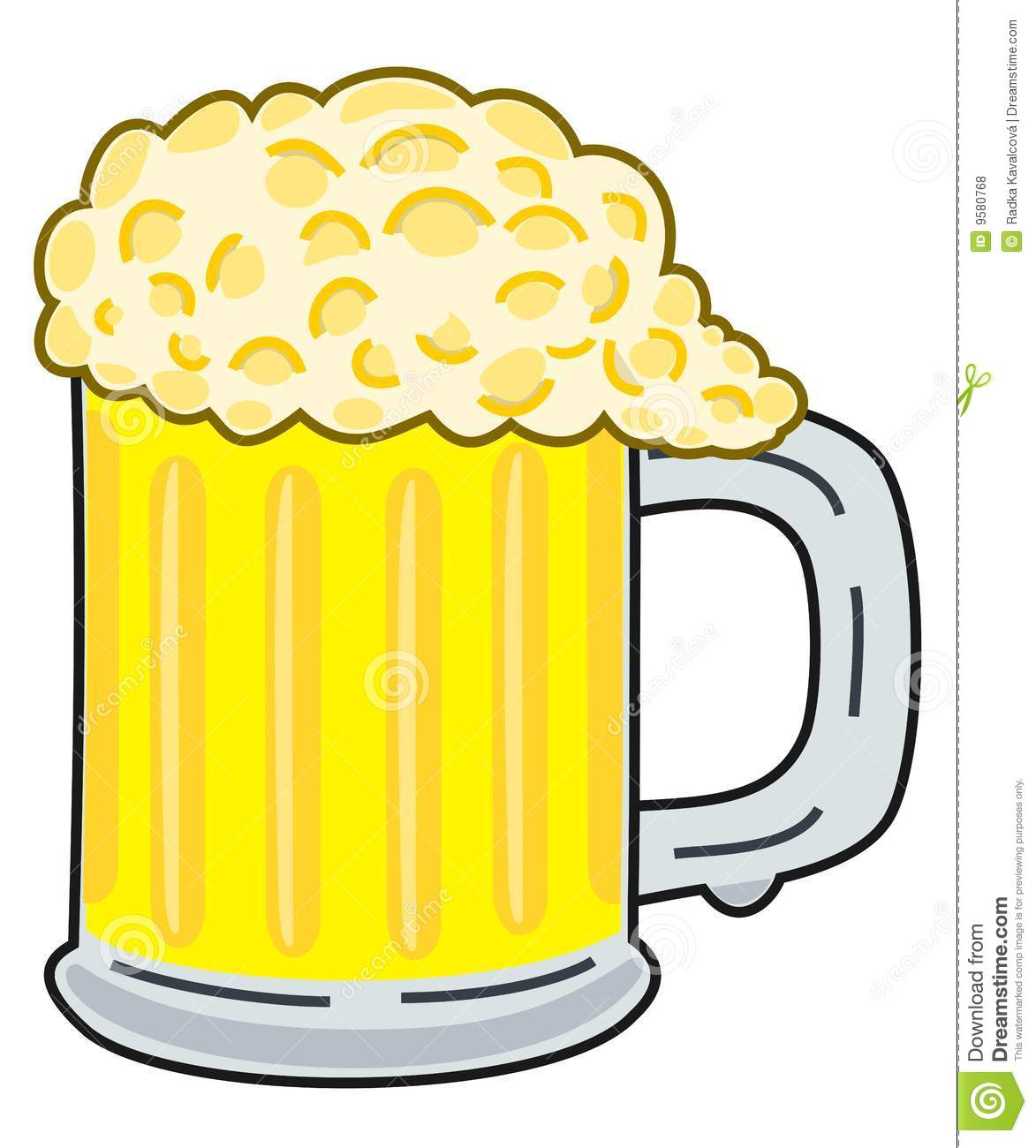 beer clipart stock vector illustration of artistic frothing 9580768 rh dreamstime com dreamtime clipart dreamstime clip art free