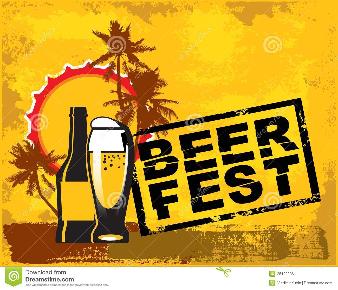 Beer Fest Royalty Free Stock Image - Image: 25120836