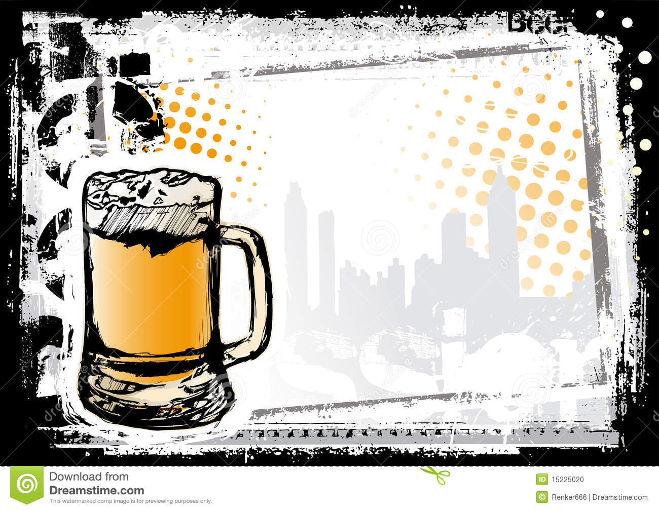 beer fest background stock photo