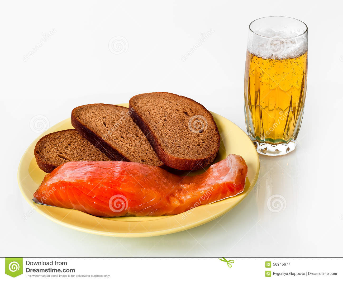 Beer fish and bread stock photo image 56945677 for Fish and beer