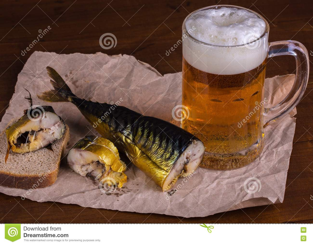 Beer with fish stock photo image 81260389 for Fish and beer