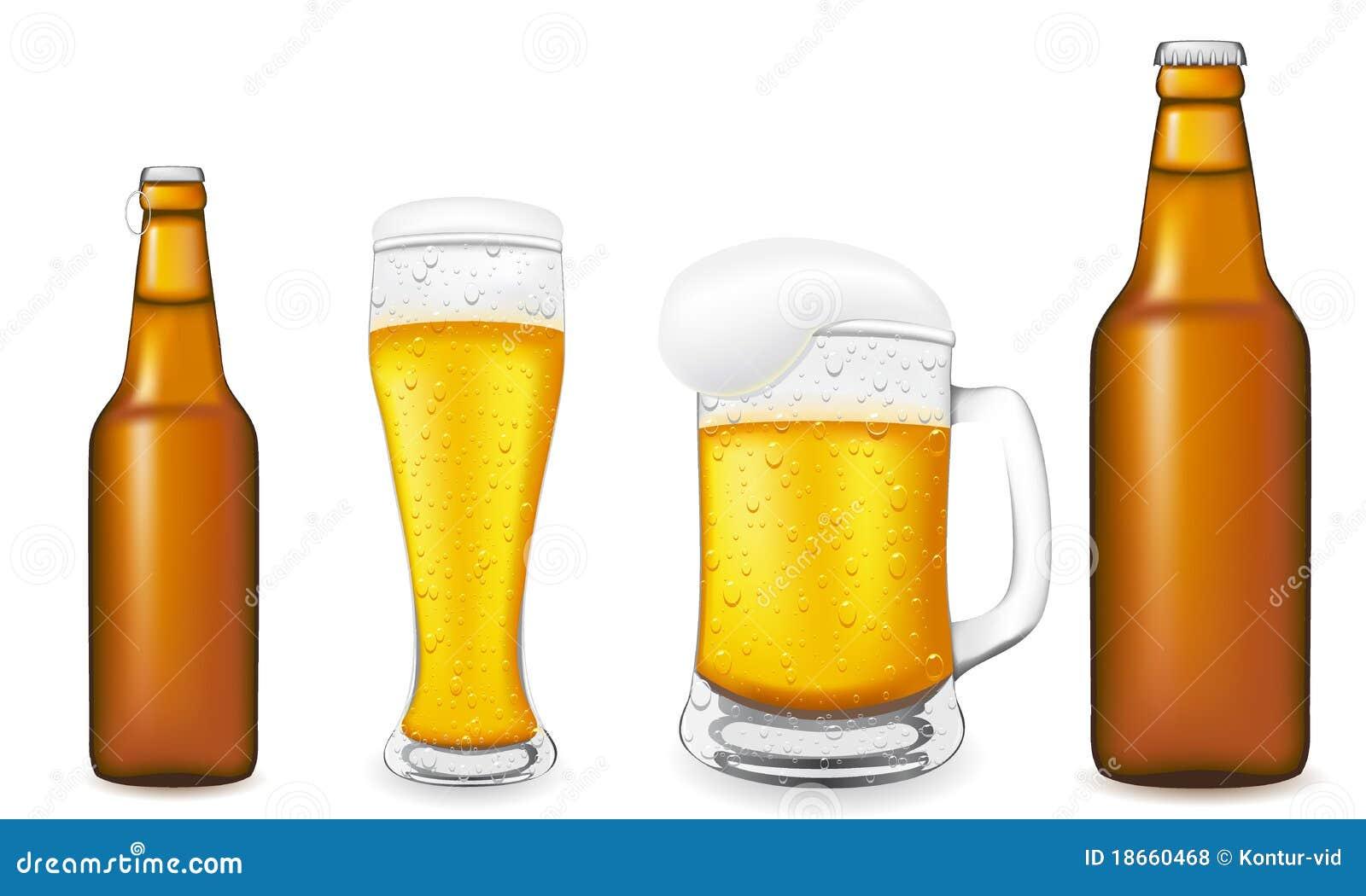 Botella De Cerveza Dibujo: Beer Bottle Vector