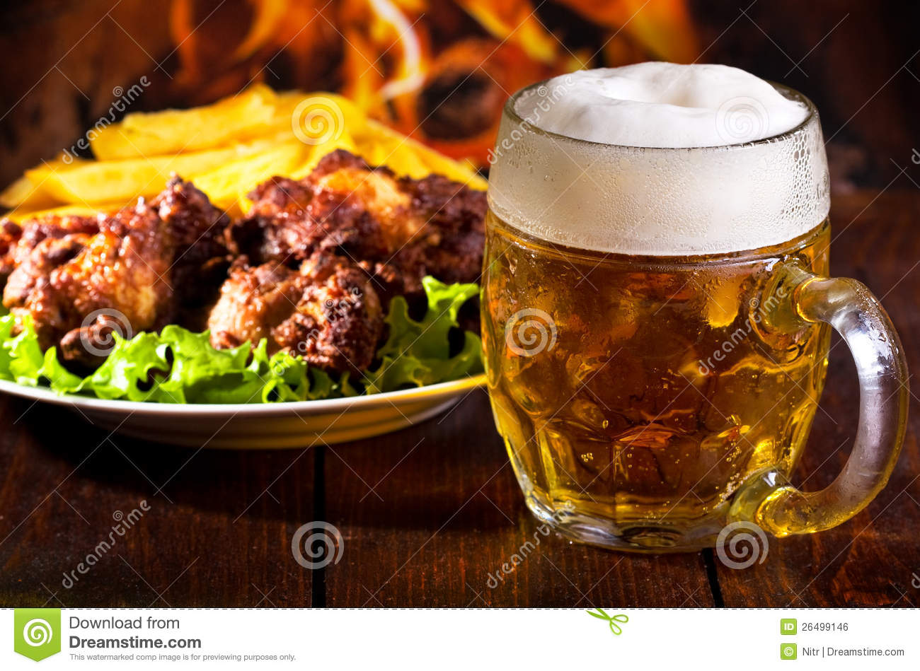 Chicken and beer - photo#5
