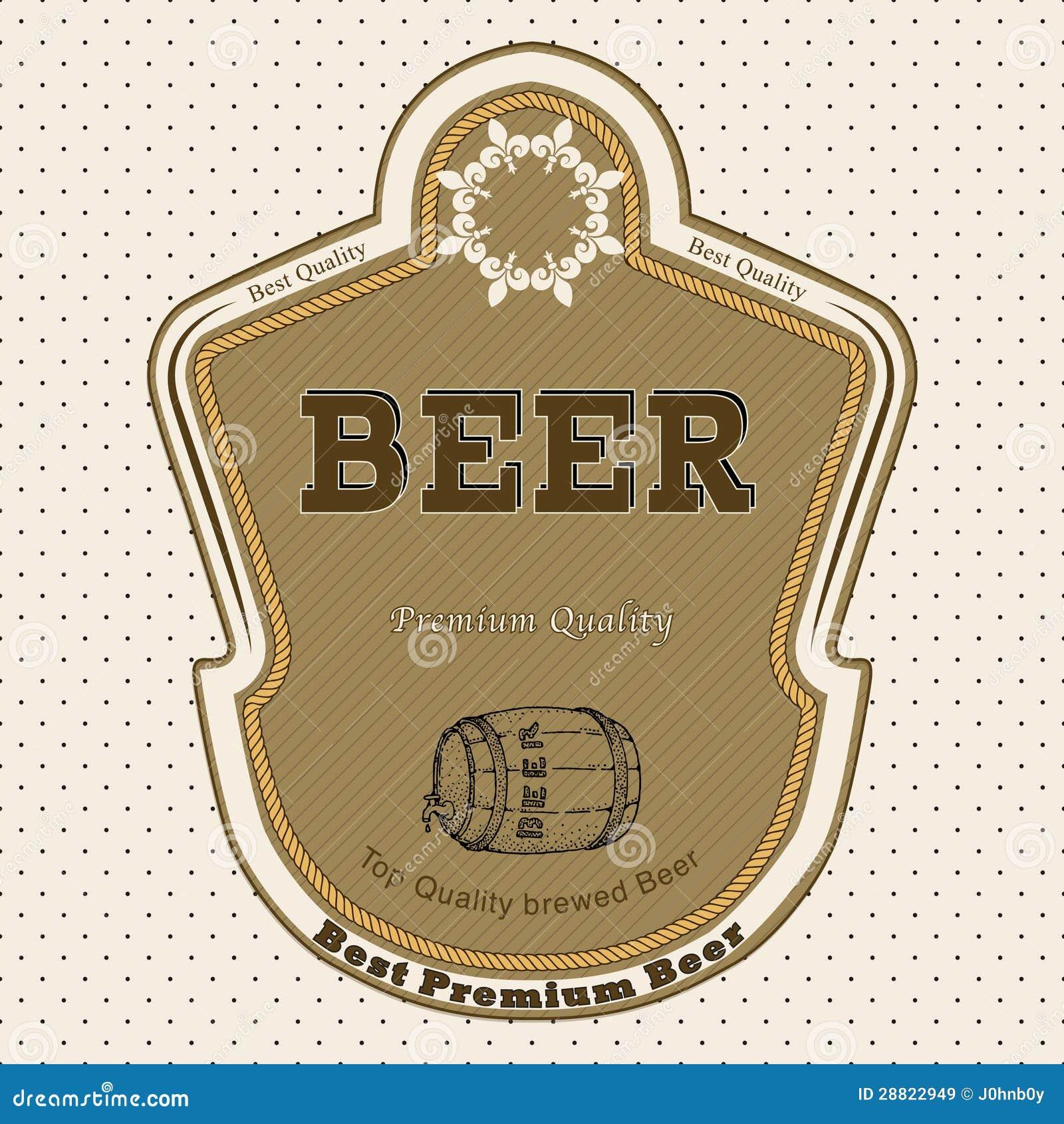 beer label stock vector illustration of clip beer beverage 28822949