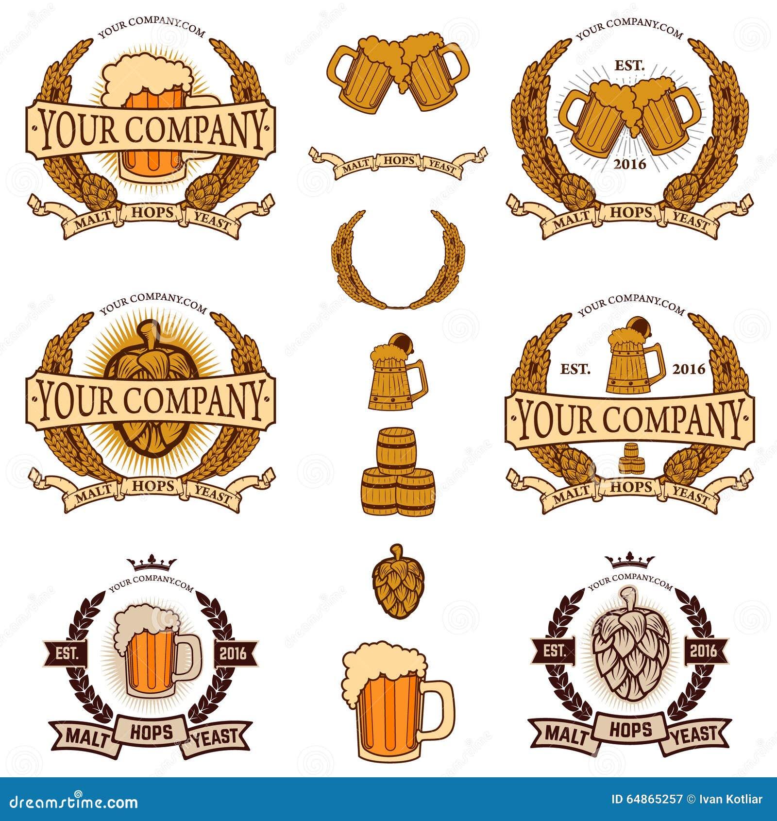 Beer labels generator stock vector illustration of design 64865257 beer labels generator biocorpaavc Image collections