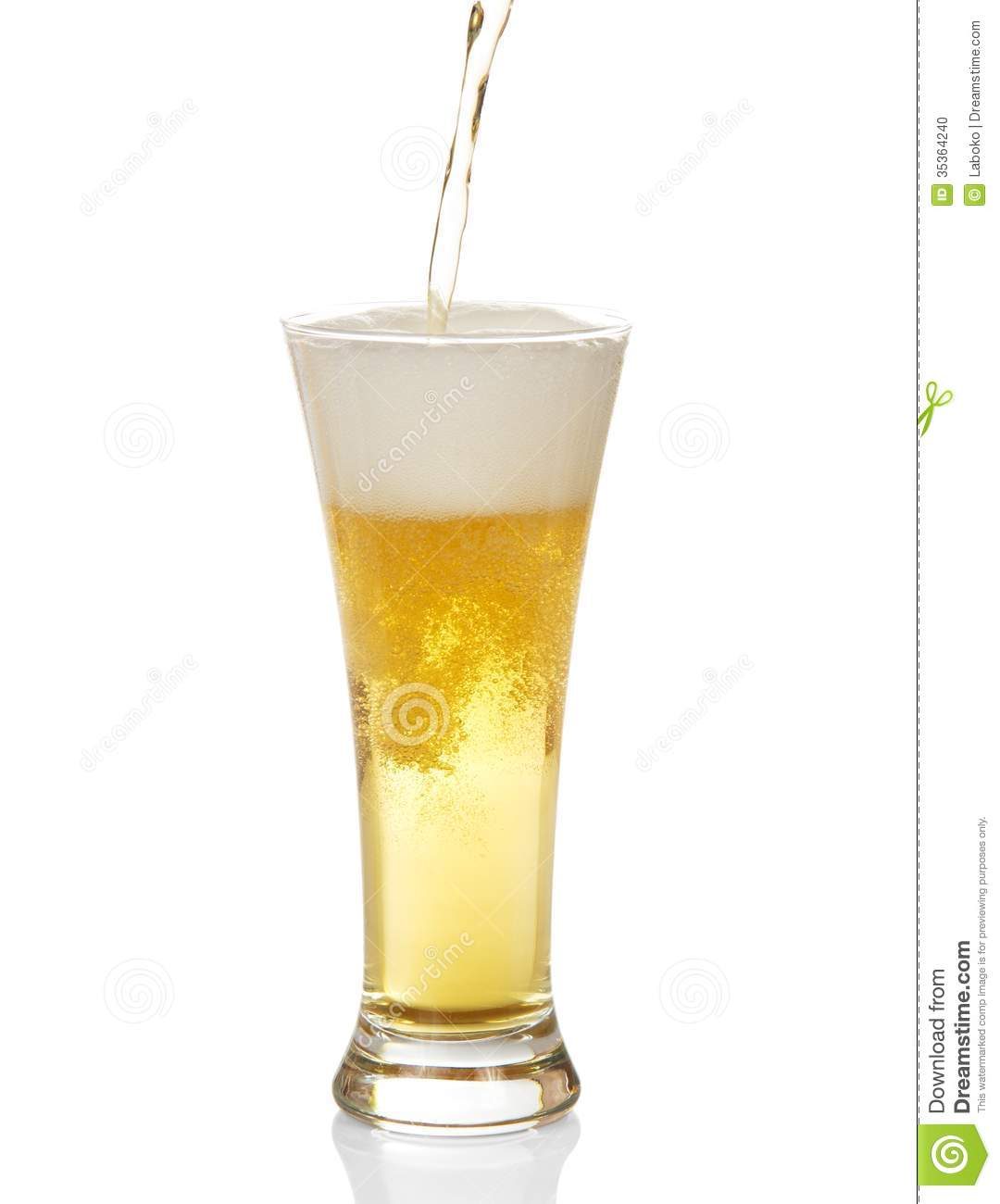 beer pouring into glass stock photo image of traditional 35364240