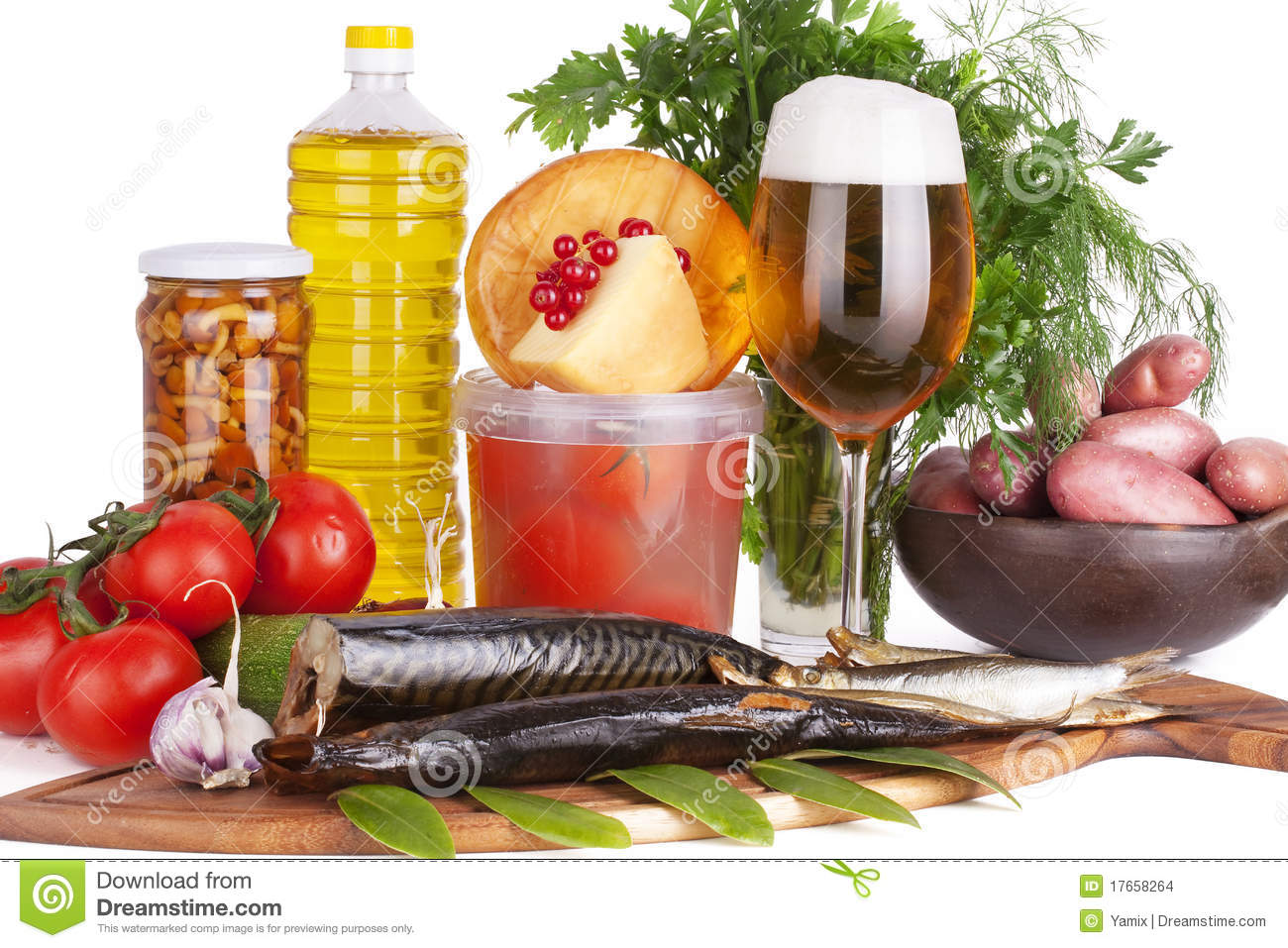 Beer and smoked fish stock images image 17658264 for Fish and beer