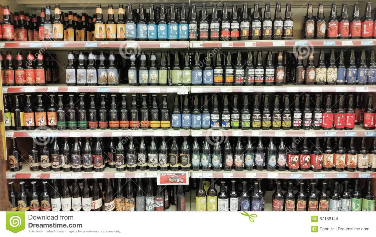The Beer Store editorial stock image. Image of distribute - 27649139