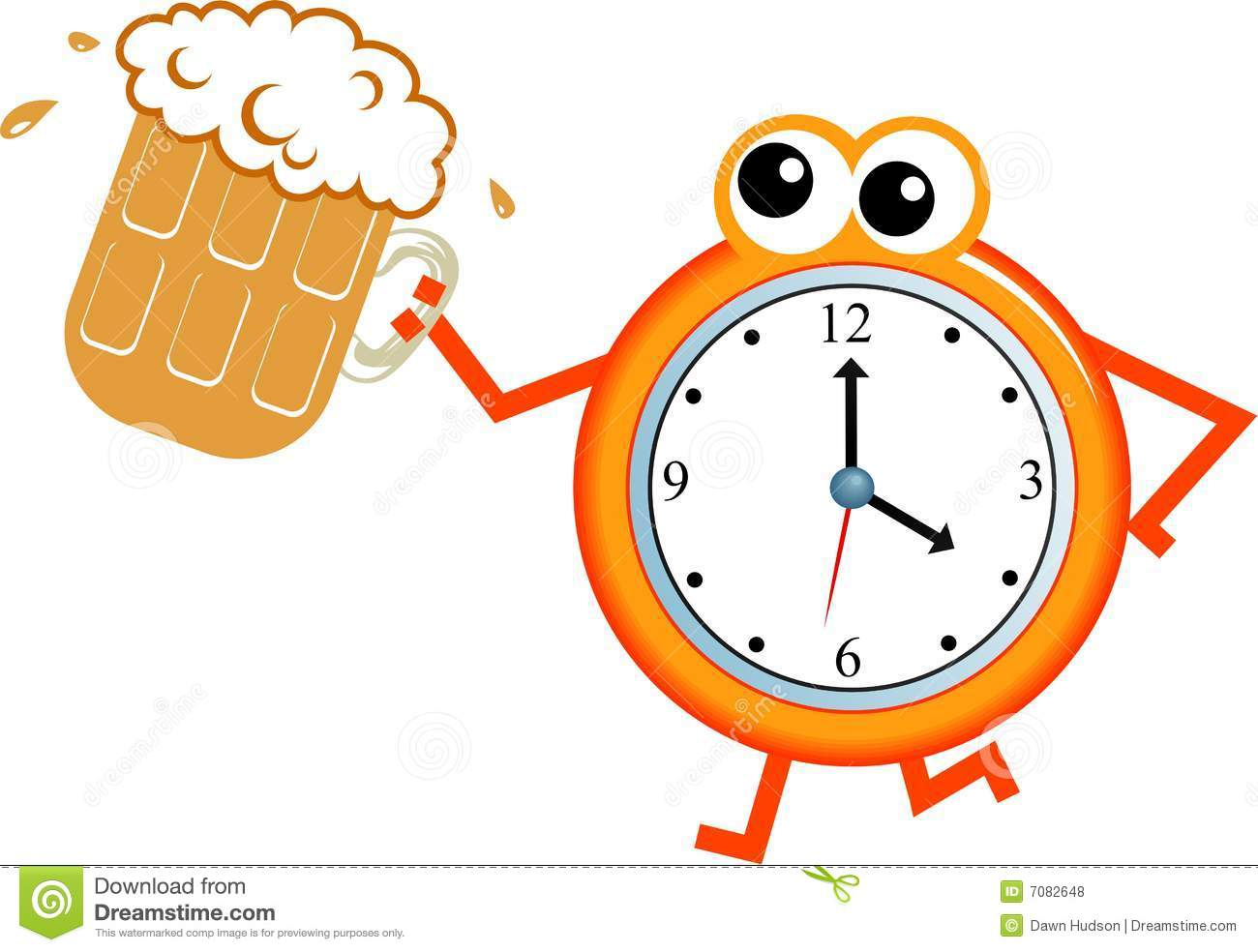 Beer Time Royalty Free Stock Photos Image 7082648