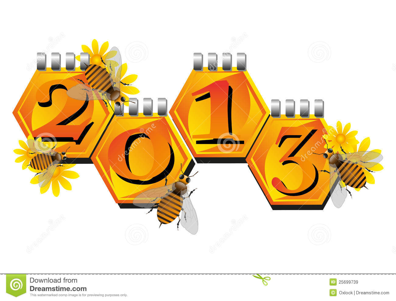 bees announcing a new year
