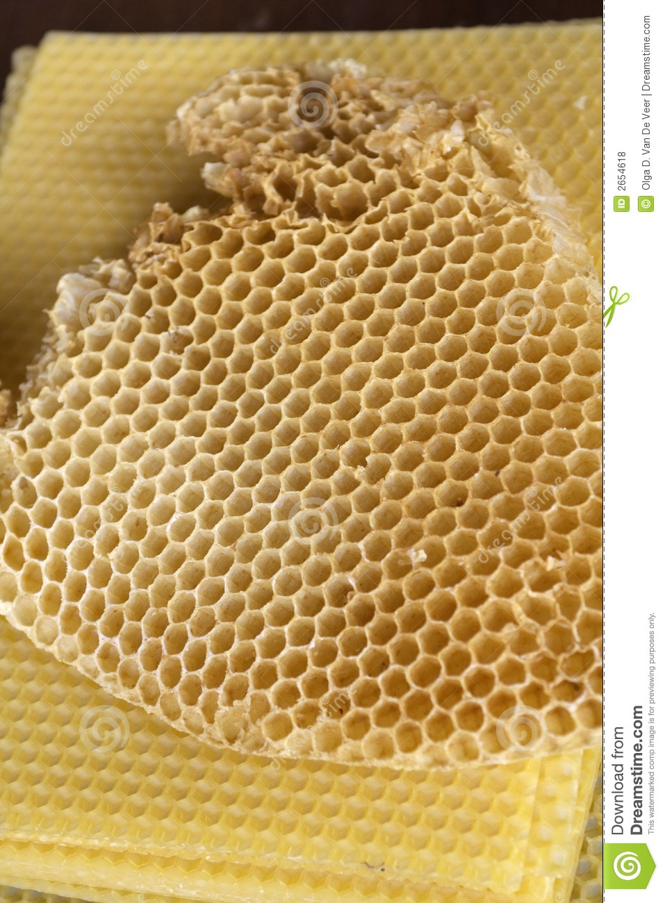 Beeswax Honeycomb Royalty Free Stock Photos Image 2654618