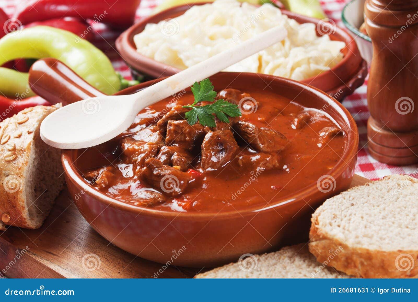 Beew stew eller goulash