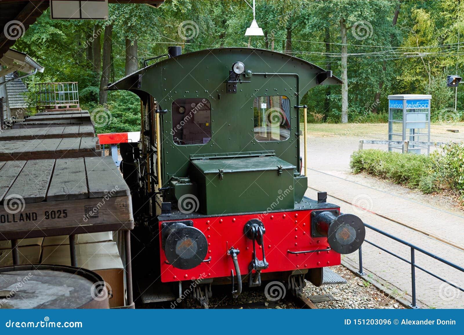 Befördern Sie Station mit Zug Juli 2018