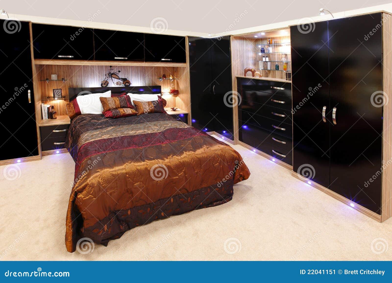 Befestigtes Schlafzimmer