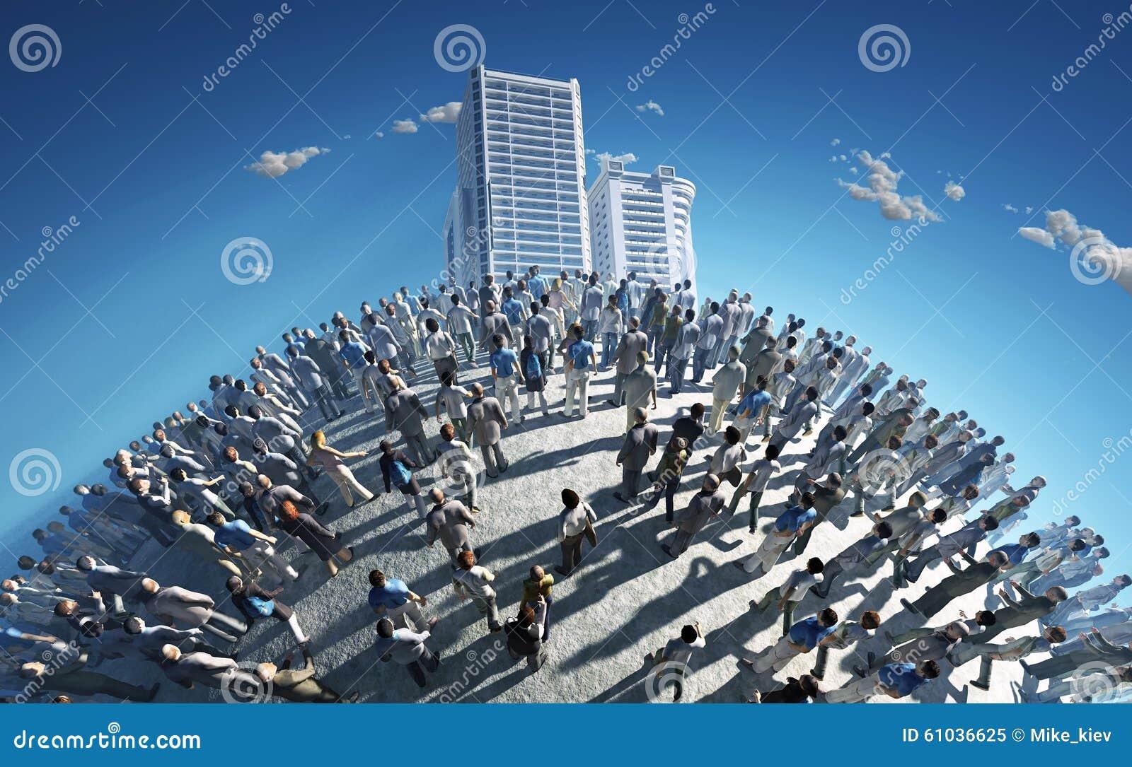 Befolkning av en planet